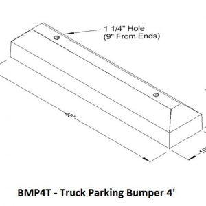 MP4TParking Bumper
