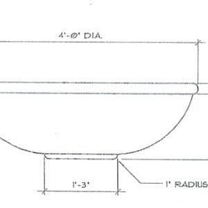 Planter P 48 15 S