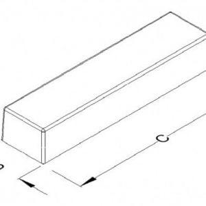 Rooftop ballast block