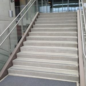 Wide Span Stairs