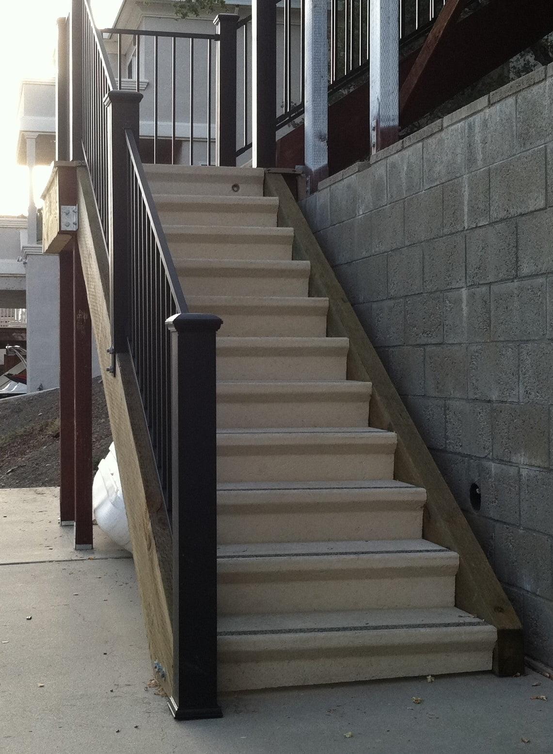 Concrete Stair Treads Landing Platforms Concrete Products For Contractors Bertelson Precast