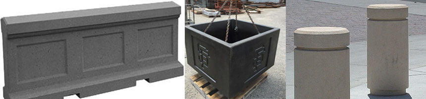 Precast Concrete Security Barriers & Products